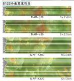 Perfil da parede para a folha de mármore envolvida superfície da cor S123 da tevê Frm