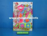Conjunto educativo de la cocina de los juguetes de la fábrica del juguete, cocinando el juguete del té (814390)
