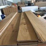 Suelo dirigido respetuoso del medio ambiente de madera de roble blanco