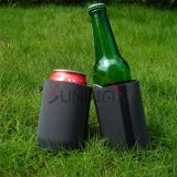 De promotie Houder van het Blik van de Drank van het Bier van het Neopreen van de Douane Koelere, Gedrongen (BC0020)