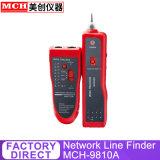 Le fil sur le fil de téléphone de test du réseau de suivi de l'entretien Testeur de câble LAN réseau mch-9810A