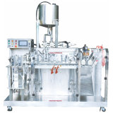 Posição Dupla Bolsa Premade Enchimento de nutrientes de plantas de líquidos de embalagem máquina de embalagem de estanqueidade