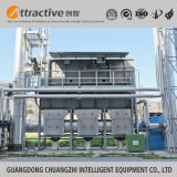 Resíduos orgânicos abrangente processo de tratamento de gás oxidante térmico regenerativo (RTO)