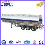 3 топливозаправщик дизеля/газолина/нефти/сырой нефти/топлива алюминиевого сплава Axle 52cbm