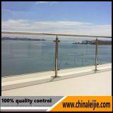 Balustrade fiable d'acier inoxydable de constructeur avec l'expérience du projet