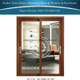 Алюминиевая раздвижная дверь от 1 панели до 6 панелей