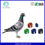UHF RFID Bird Ring Tag para Bird ID Tracking Management System