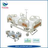 Base médica eléctrica de la función de acero plegable del carril lateral cinco