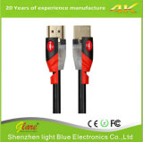 Soporte 4k*2k/60Hz cable Color-Popular del color rojo/del negro HDMI 2.0V