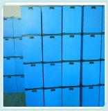 Dokumenten-und Selbstspeicher-Lager-gewölbter hohle Plastikkasten
