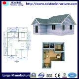 중국에 있는 강철 프레임을%s 가진 강철 구조물 집