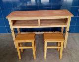 Estudiante de madera maciza mesas y sillas mesas y sillas de madera de los estudiantes un conjunto (M-X3213)