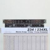 Som profissional equipamentos periféricos, 2/3 estéreo de 4 vias mono Crossover 234XL