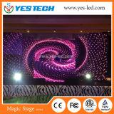 Fondo de etapa delgada cubierta Evento sesión FULLCOLOR LED