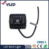 4X4 вспомогательные светильники работы машины CREE СИД управляя светов 18W
