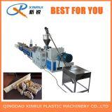 Máquina composta plástica de madeira da extrusora do PVC