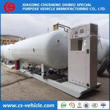 10tons /20000L het Benzinestation van het Gas van LPG/Installatie, de Post van de Steunbalk van LPG met Automaat