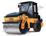 6000 chilogrammi scelgono il macchinario vibratorio della costruzione di strade del timpano (YZ6C)