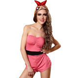 Christmas Party Girl Cosplay Costume Sexy Lingerie Sexy Lingerie Lingerie sexy nuisette à chaud