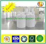 Surface lisse du papier thermique 48GSM Fournisseur de papier de bureau