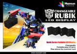 Chine Super Bright Rubik P6 ultra léger LED pliable
