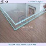 3.2mm/4mmは温室に使用した超明確なフロートガラスを和らげた