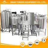 Cerveja Alemanha no equipamento da fermentação