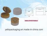 Kosmetische Paket-kosmetische Flaschen-Plastikflaschen-loser Puder-Kasten (YELLO-166)