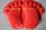 Tapete de porta de pés grande para design de PVC com PVC 3G