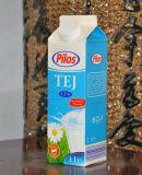 1 L de jugo fresco Gable Top cartón con mayúsculas