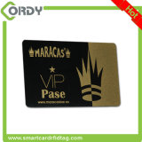 Cartão 1k clássico printable do smart card MIFARE da microplaqueta do PVC do HF 13.56MHz RFID
