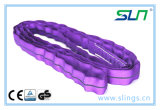 2018 Sln infinies Violet 1t*1m l'élingue ronde avec la CE/GS