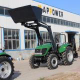 프런트 엔드 로더, 농업 트랙터를 가진 100HP 4WD 농장 Tarctor