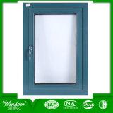 Guichet en aluminium de tissu pour rideaux d'interruption thermique avec la double glace