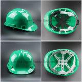 Sombrero duro del HDPE de la seguridad resistente del casco de seguridad (SH502)