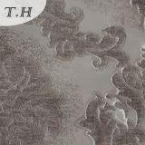 Tela de tapicería baja del poliester del satén