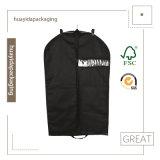 sac non tissé environnemental de couverture/vêtement de procès de Mens de sacs de couverture de robe