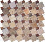 Carrelage en mosaïque de marbre, Granite Tile constuction, mosaïque, mosaïque de pierre