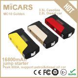 Dispositivo d'avviamento portatile del ponticello della batteria di nuovo colore dorato di arrivo