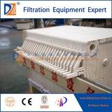 Prensa de filtro semiautomática hidráulica de DZ para la desecación del lodo