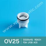 Vanne antidérapante plastique en plastique miniature Dn25