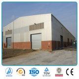 軽い鉄骨構造の倉庫の建築材料