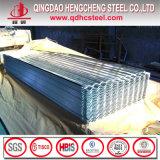 Prix ondulé galvanisé par Z100 de tôle de toit en acier en métal