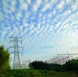 220kv Toren van het Staal van de Hoek van de Transmissie van de Macht van de hoek de Eind