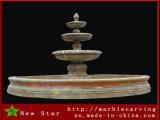 Фонтан гранита фонтана характеристики воды сада