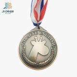 Подгонянное медаль пожалования металла школы пробела сплава заливки формы английское