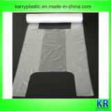 HDPE Träger-Beutel-Griff-Plastiktaschen mit Kern für das Einkaufen