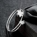 Verstohlener Stahlarmband-schöner Entwurf des Aestheticism-Form-Sterlingstahlarmband-925