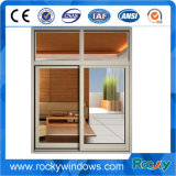 Felsiges Wohnaluminiumquerbalken-Fenster