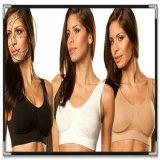 Новые женские сшитых Чартерный Комфорт спорта джина / Ahh бюстгальтер со съемными подушечками